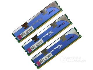 金士顿HyperX系列 6GB DDR3 1600(KHX1600C9D3K3/6GX套装)