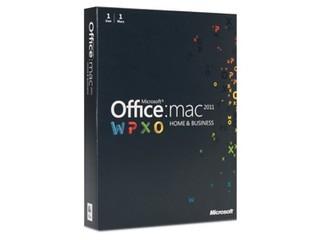 苹果Microsoft Office for Mac 2011 家庭与企业版-2安装