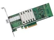 Intel E10G41BFLR网卡单口万兆服务器单模LC光纤X520-LR1原装