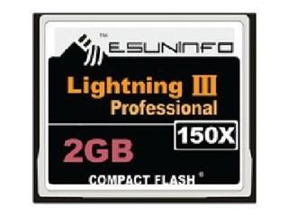 易昇 150X CF卡(2GB)