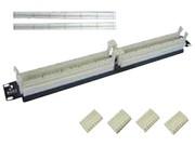 清华同方 2个50对无腿110配线架组件(CP110W2-50)