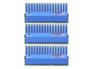金士顿 6GB DDR3 1600套装(KHX1600C9D3T1K3/6GX)