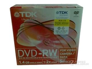 TDK 摄像专用系列DVD-RW 2速 1.4G(单片盒装)