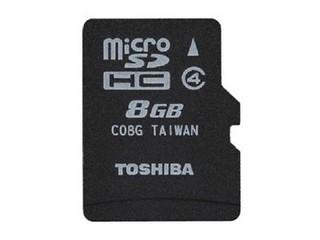 东芝MicroSDHC Class4(8GB)/SD-C08GR7W4