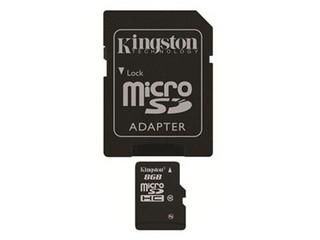金士顿Micro SDHC卡 Class10(8GB)