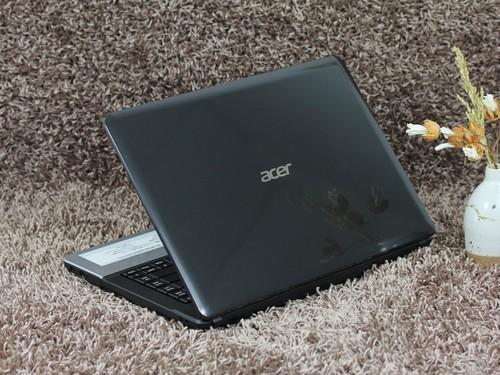 Acer E1黑色 外观图
