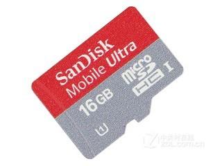 闪迪Mobile Ultra Micro SDHC卡 UHS-1 Class10(16GB)
