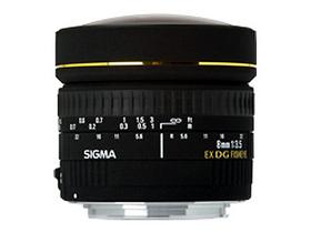 适马8mm f/3.5 EX DG Circular Fisheye(佳能卡口)