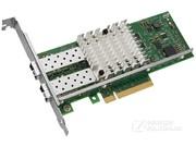 Intel网卡E10G42BFSR万兆双口LC光纤服务器PCI-E网卡20GB原装X520-SR2