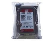 WD 1TB 7200转 64MB SATA3 红盘(WD10EFRX)