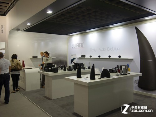 IFA2012:漫步者多款重磅新品亮相展会