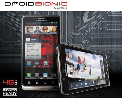 摩托罗拉Droid Bionic用户迎来ICS更新