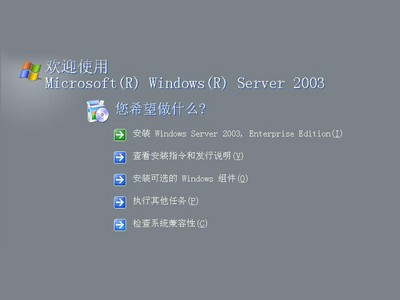 Microsoft Windows Server 2003 中文企业版(25 USER)coem