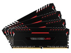 海盗船复仇者LED 64GB DDR4 3000(CMU64GX4M4C3000C15R)